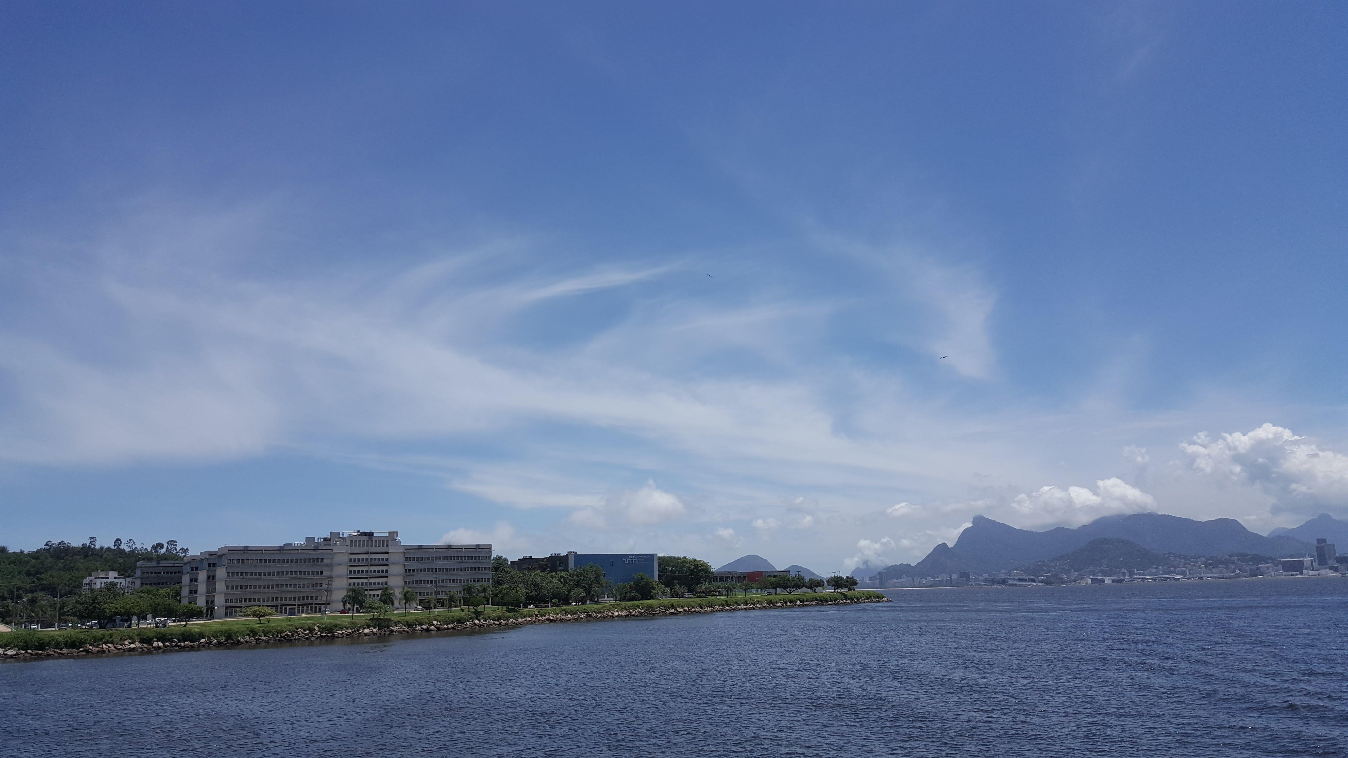 Instituto de Matemática e a bahia de Guanabara